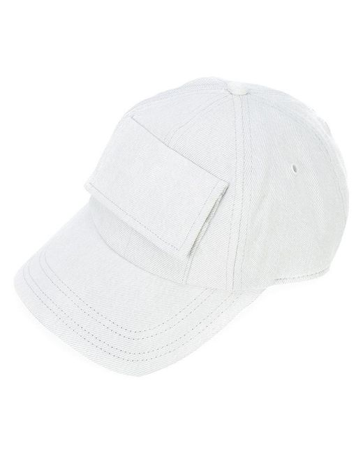 G-Star RAW | Blue Denim Pocket Cap for Men | Lyst