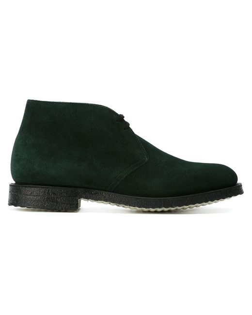 Church's | Green Ryder Suede Ankle Boots for Men | Lyst
