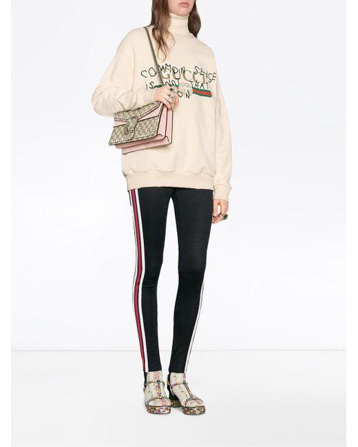 e4de908c6c93 ... Gucci - Multicolor Dionysus GG Supreme Shoulder Bag With Crystals - Lyst  ...