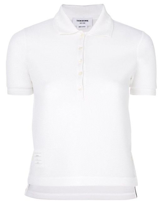 Thom Browne | White X Colette Polo Shirt | Lyst