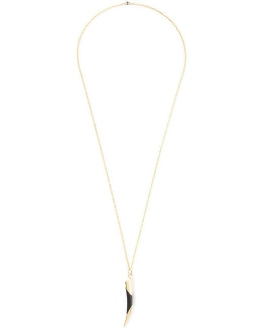 Maiyet - Black Horn Tip Necklace - Lyst