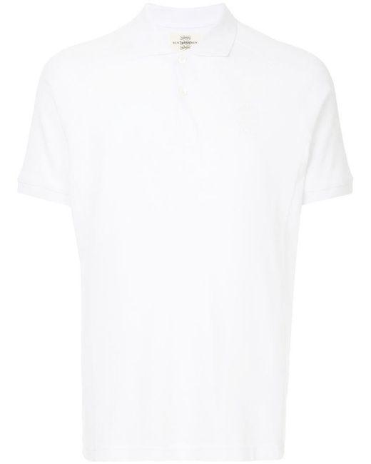 Kent & Curwen - White Classic Plain Polo Shirt for Men - Lyst