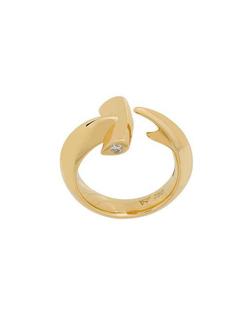 Stephen Webster - Metallic 18kt Yellow Gold Hammerhead Diamond Ring - Lyst