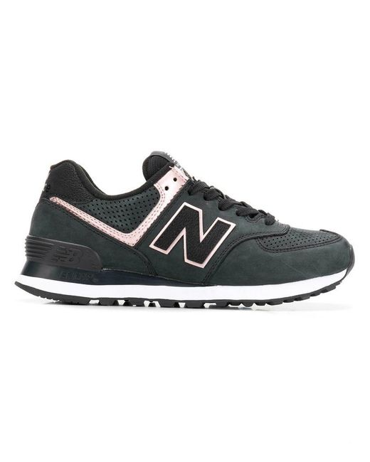 size 40 63a05 f856d New Balance - Gray Classic Lace-up Sneakers - Lyst ...