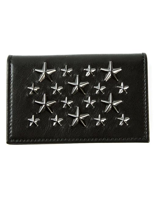 Jimmy Choo - Black 'belsize' Card Holder for Men - Lyst