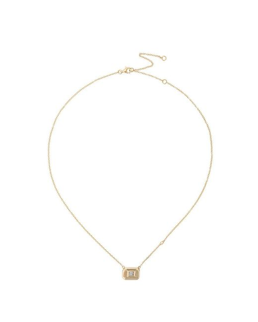 SHAY - Metallic Essential Baguette Necklace - Lyst