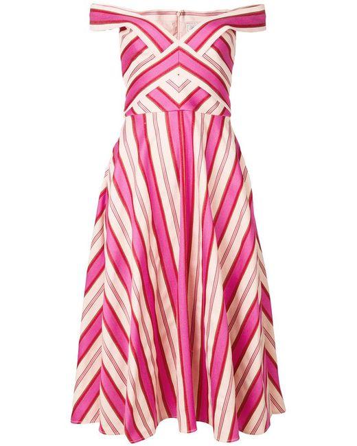 Temperley London - Pink Pine Tree Dress - Lyst
