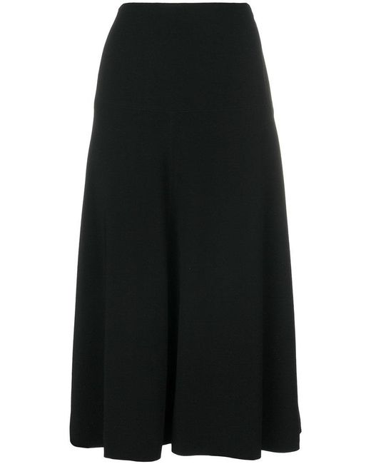 Marni - Black Midi Skirt - Lyst