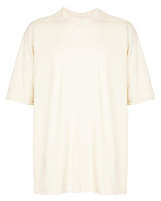 Rick Owens Drkshdw - Natural Oversized T-shirt for Men - Lyst