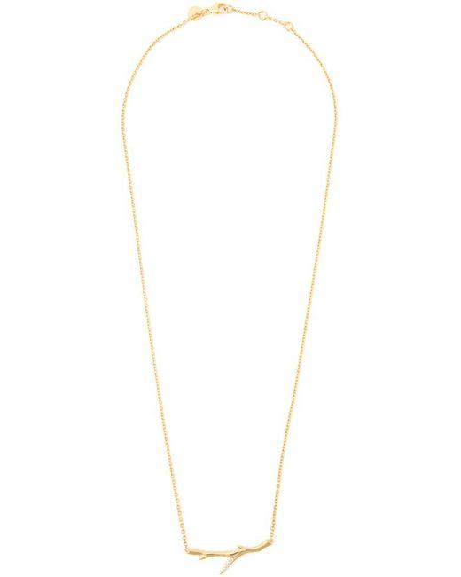 Shaun Leane - Metallic 'cherry Branch' Diamond Necklace - Lyst
