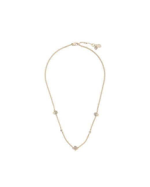 Alexander McQueen - Metallic Skull Charms Necklace - Lyst