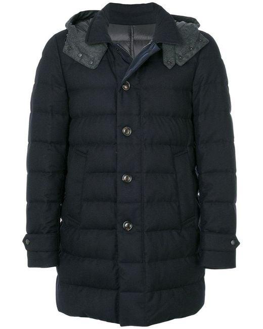 Moncler - Blue Nicloux Coat for Men - Lyst