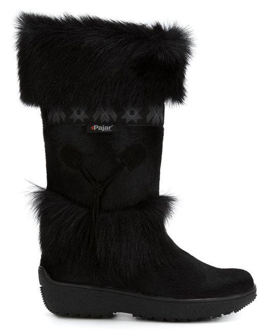 Pajar - Black 'laura' Boots - Lyst