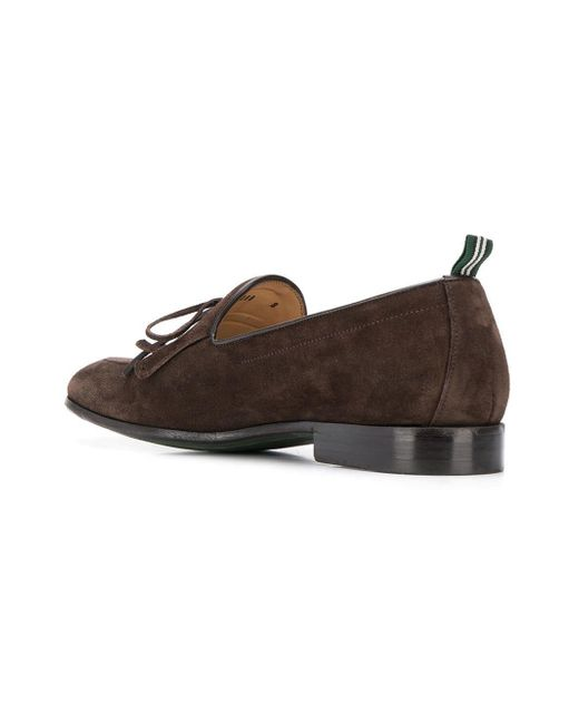 f929aeb034144 ... Green George - Brown Lace Up Loafers for Men - Lyst ...