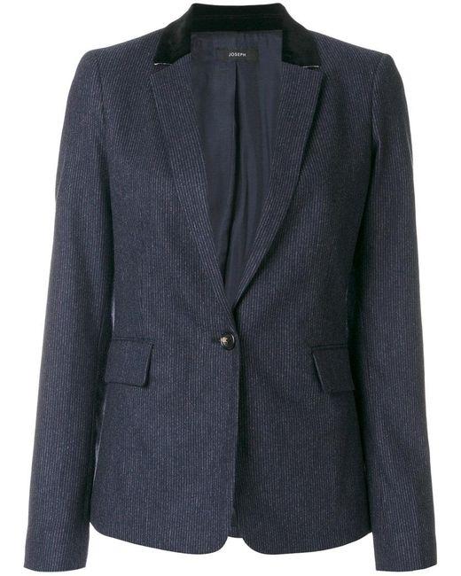 Joseph | Blue Single Button Blazer for Men | Lyst