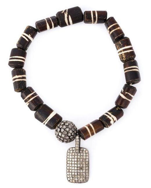 Loree Rodkin | Black Mahla Beads Bracelet | Lyst