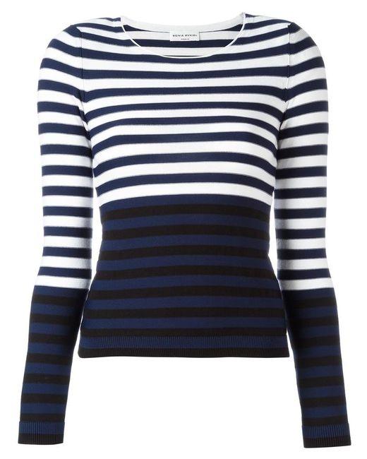 Sonia Rykiel | Blue Striped Jumper | Lyst