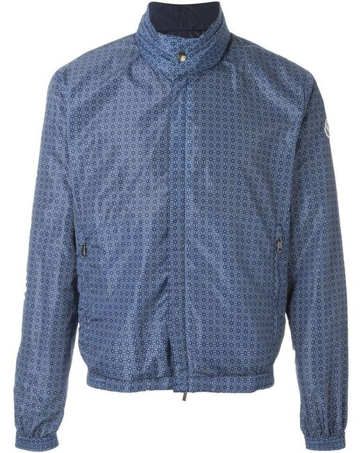 Moncler - Blue 'tristan' Reversible Jacket for Men - Lyst