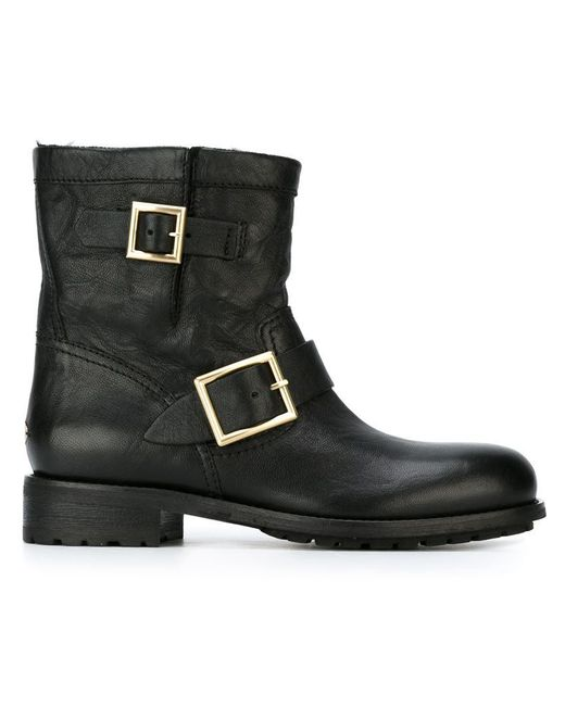 Jimmy Choo | Black 'youth' Boots for Men | Lyst