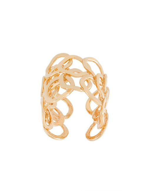 Gas Bijoux - Metallic 'olympie' Ring - Lyst