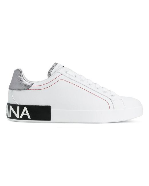 Dolce & Gabbana - White Portofino Sneakers for Men - Lyst