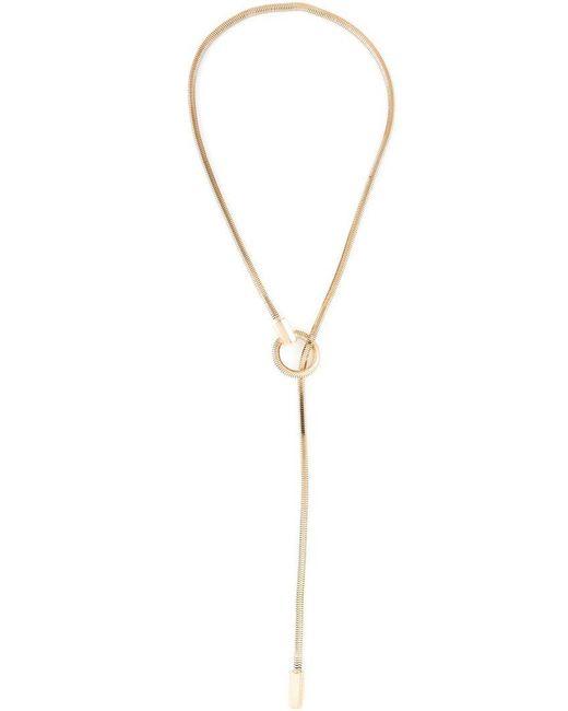 Lara Bohinc   Metallic 'schumacher' Loop Necklace   Lyst