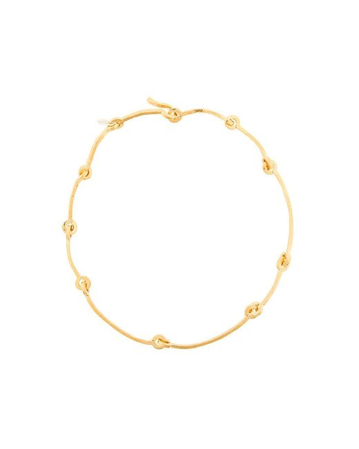 Wouters & Hendrix - Metallic Technofossils Hammered Link Necklace - Lyst