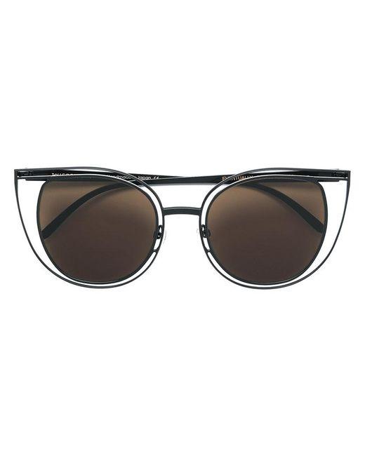 Thierry Lasry - Black Eventually Cat Eye Sunglasses - Lyst