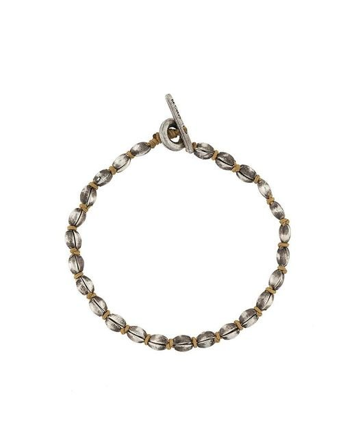 M. Cohen - Metallic Beaded Bracelet for Men - Lyst