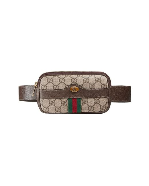 54299bbf72c Gucci - Brown Ophidia GG Supreme Belted Iphone Case - Lyst ...
