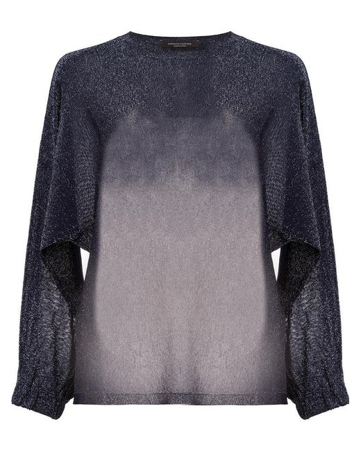 Roberto Collina - Blue Loose Fit Jumper - Lyst