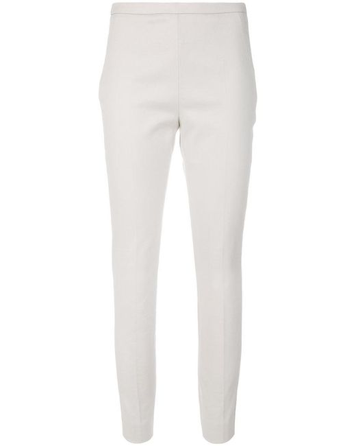 Dorothee Schumacher - Natural Tailored Cropped Trousers - Lyst