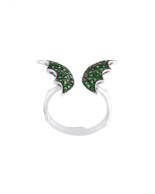 Stephen Webster | Green Wing Detail Ring | Lyst