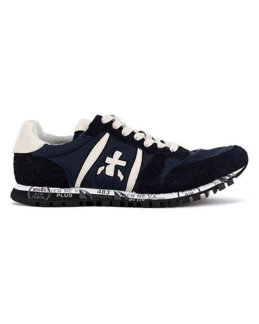 Premiata - Blue Lace-up Sneakers for Men - Lyst
