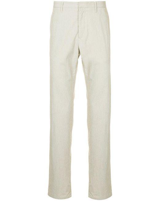 Cerruti 1881 - Brown Straight Leg Trousers for Men - Lyst