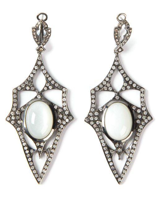 Loree Rodkin | Metallic 'kaleidoscope' Diamond Earrings | Lyst