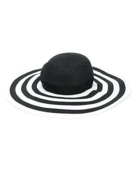Borsalino - Black Pamela Hat - Lyst