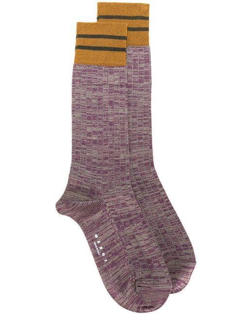 Marni - Purple Marl Socks for Men - Lyst