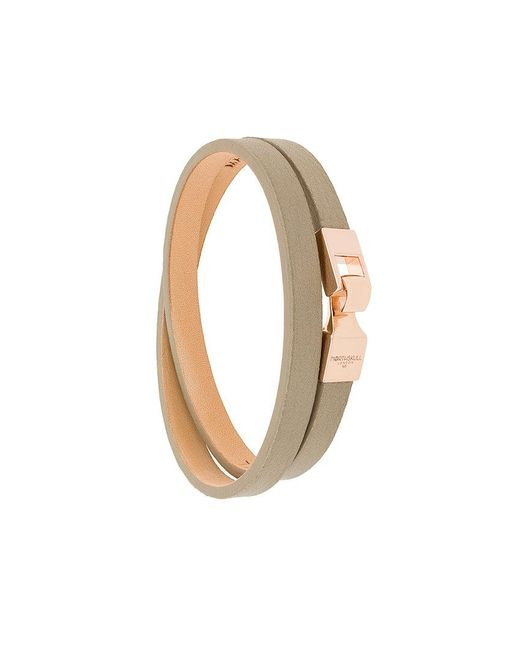 Northskull - Natural Double Wrap Bracelet for Men - Lyst