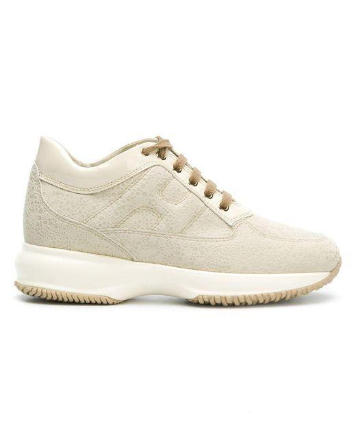 Hogan - White High Platform Sneakers - Lyst