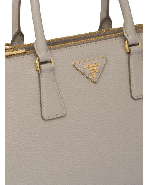 335485b9b1 ... Prada - Metallic Galleria Tote Bag - Lyst