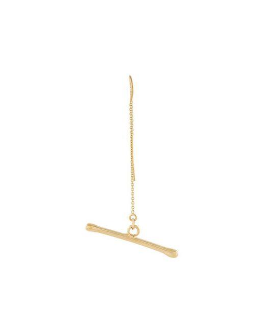 Noritamy | Metallic 'assymetric Joint' Earring | Lyst