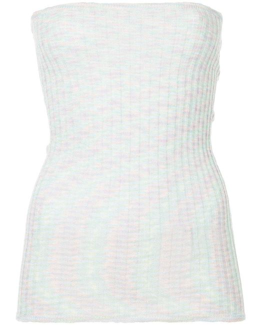 Georgia Alice - Multicolor Boob Tube Knitted Top - Lyst