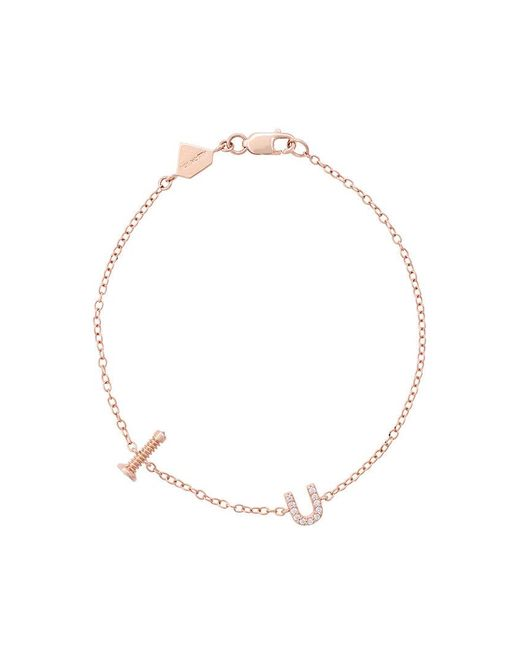 Alison Lou | Metallic Screw U Bracelet | Lyst