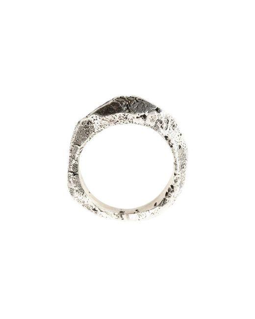 Tobias Wistisen | Multicolor Rough Finish Ring | Lyst