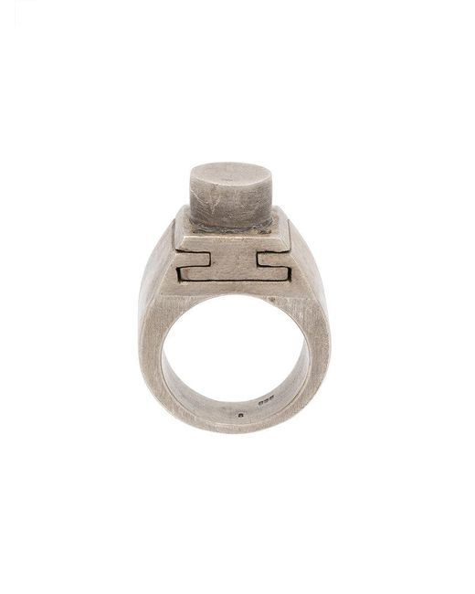 Parts Of 4 - Metallic Sistema V3 Ring for Men - Lyst