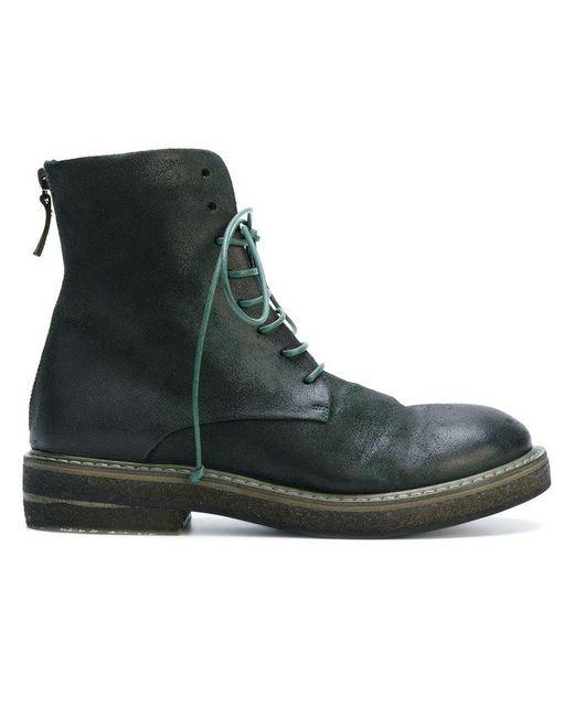 Marsèll | Green Army Boots | Lyst