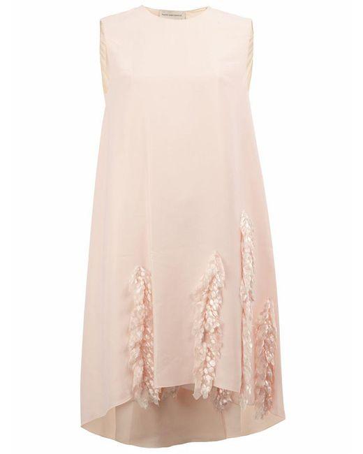 Maison Rabih Kayrouz - Multicolor Applique Detail Dress - Lyst