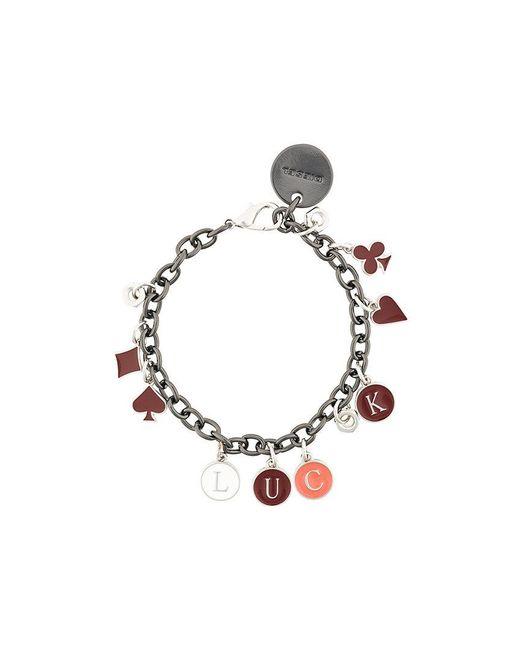 DIESEL | Metallic Luck Charm Bracelet | Lyst