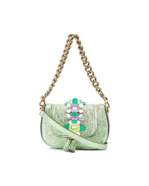 Anya Hindmarch | Green Mini Vere Chain Shoulder Bag | Lyst